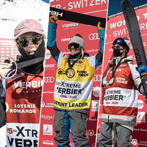 Three HEAD athletes in Freeride World Tour overall top three.