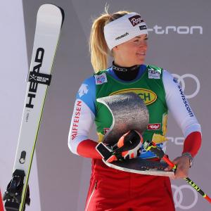 Lara Gut-Behrami fährt nur knapp am Sieg vorbei