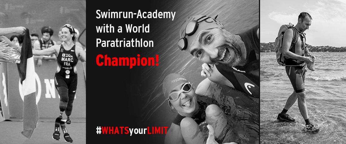 When Swimrun Academy met a World Paratriathlon Champion!