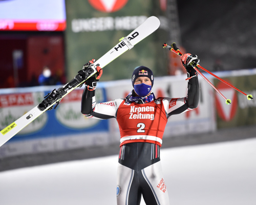 Alexis Pinturault Winner Lech Worldcup
