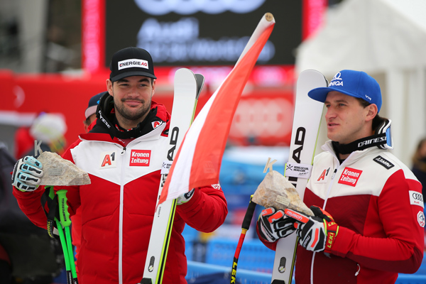 Kriechmayr & Mayer – Super-G-Doppelsieg für HEAD-Duo in Garmisch