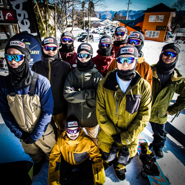 HEAD EYEWEAR SUPPORTS HEAD SNOWBOARD EVENT IN JAPAN