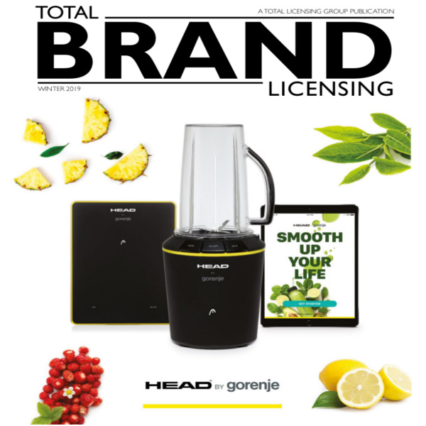 TOTAL BRAND LICENSING MAGAZINE COVER AND ARTICLE