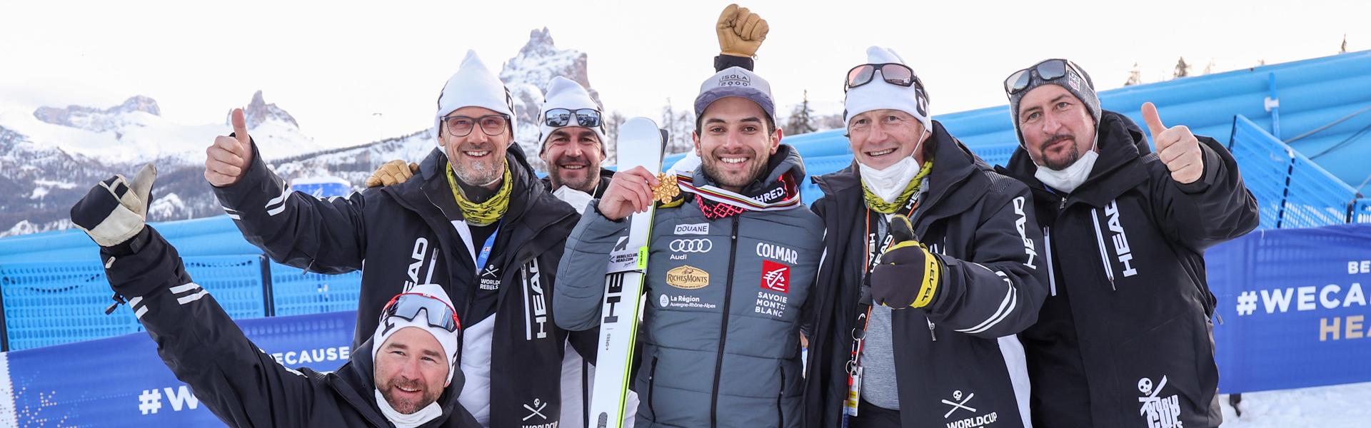 Gold for Mathieu Faivre at World Championship début