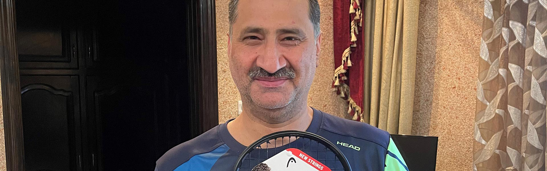 The  Squash Colossus - exclusive interview with Jansher Khan