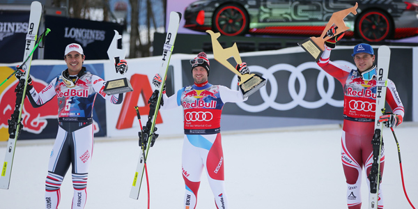 HEAD wins all three races on the Streif run in Kitzbühel