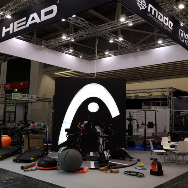 HEAD BAGS ASIA AND MIDDLE EAST & HEAD FITNESS AT ISPO