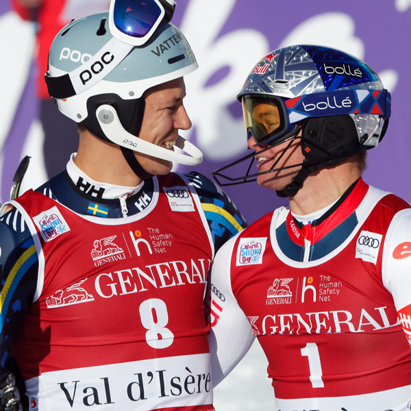 HEAD premiere: First double victory in the men's Slalom