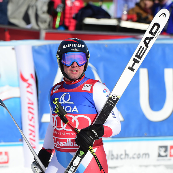 Beat Feuz six points away from the Downhill Crystal Globe