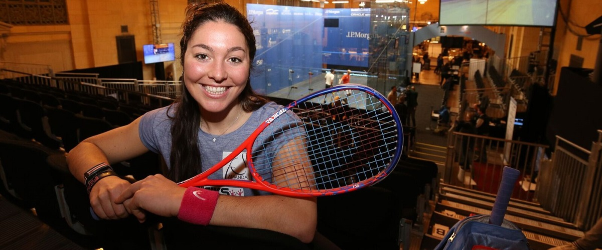 Head signs Amanda Sobhy, the great hope of American Squash