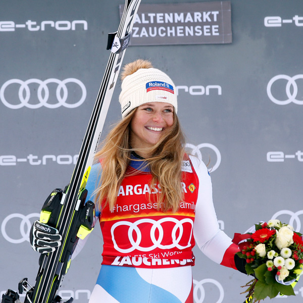 First World Cup victory for Corinne Suter