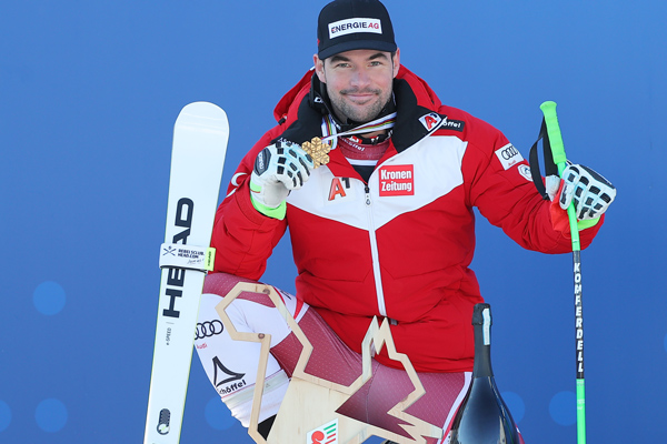 Gold medals for Lara Gut-Behrami and Vincent Kriechmayr