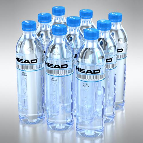 HEAD Drinks water bottles
