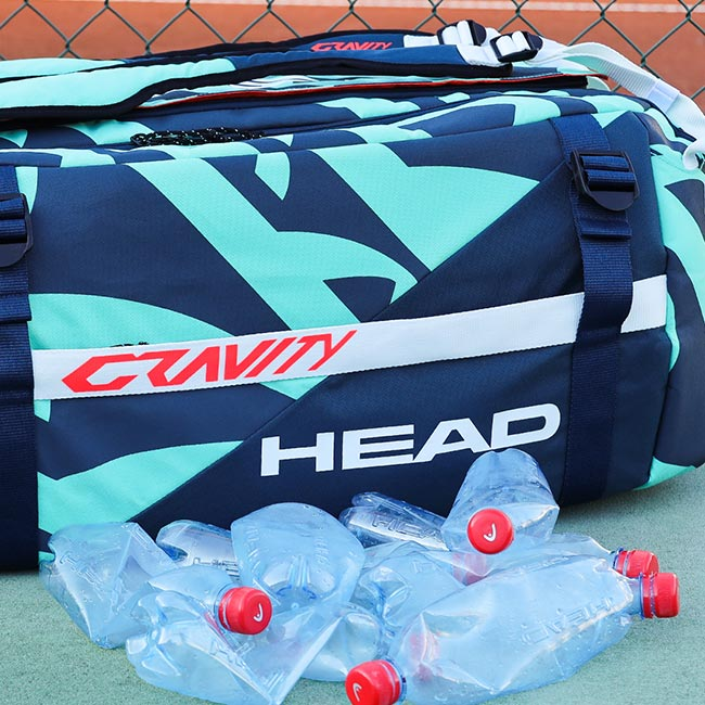 The Gravity R-Pet Bag - Spun from recycled plastic