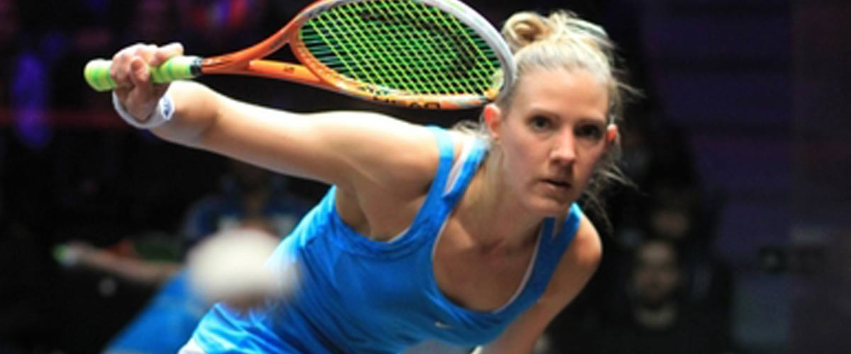 Laura Massaro claims Carol Weymuller Open