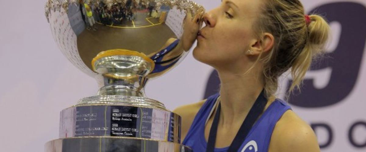 HEAD'S LAURA MASSARO IS NEW SQUASH WORLD CHAMPION