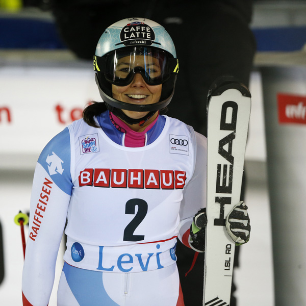 23rd podium finish for Wendy Holdener in Slalom