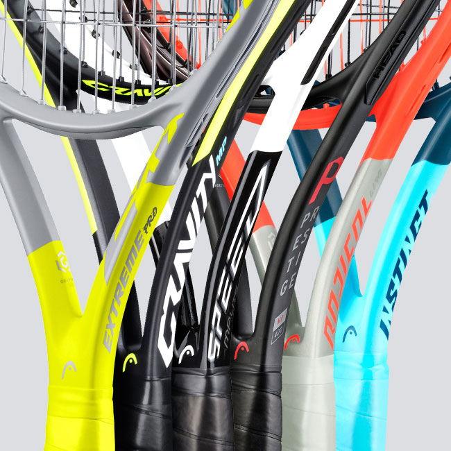 New Model Names for our Racquets
