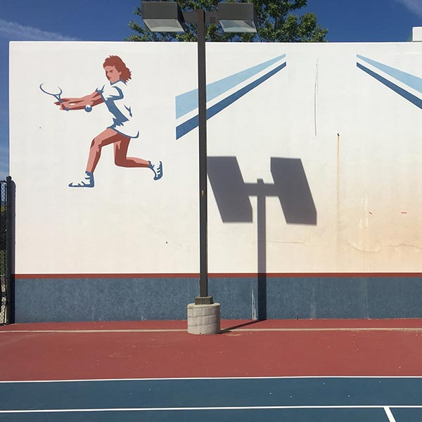 The Tennis Wall - A perfect practice partner who just can`t miss