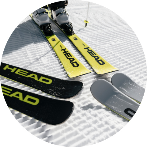 Find your HEAD ski with our ski-finder