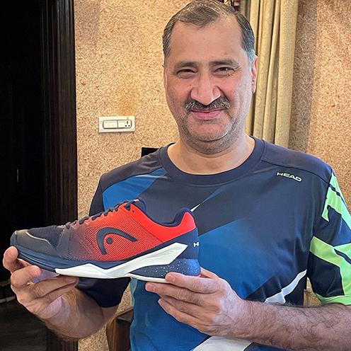 Jansher Khan Squash Shoe