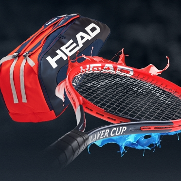 HEAD Laver Cup Bag and Tennis Racquet