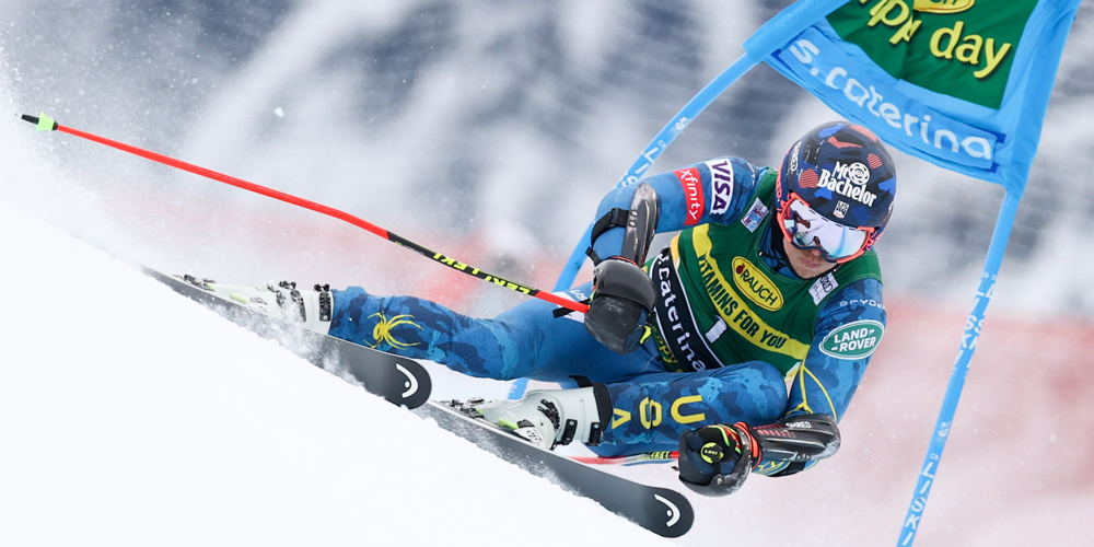 Tommy Ford New Head Skis To A Podium Finish In Santa Caterina Head