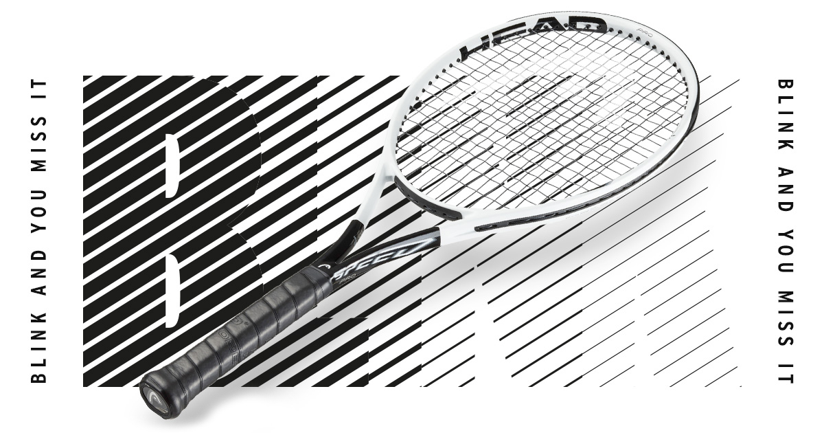 Blink and you miss it – the all new HEAD Speed racquets