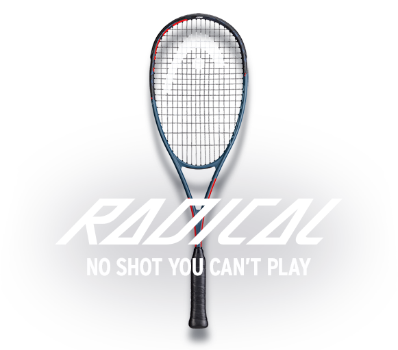 HEAD Radical Squash racquet