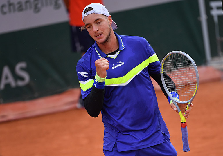 J.L.Struff at French Open