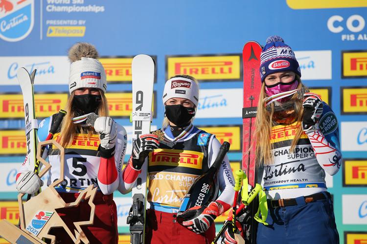 WM Cortina Podium Women