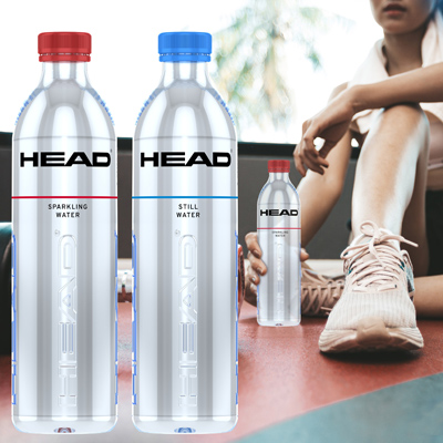 HEAD water bottles