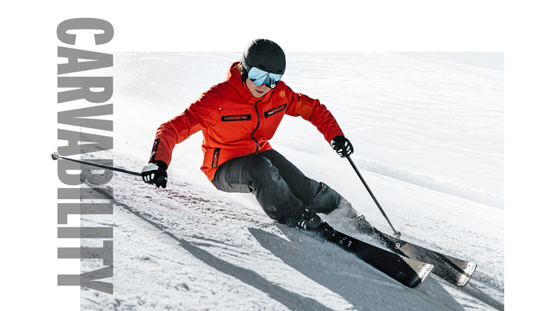 HEAD Ski V-Shape Carvability