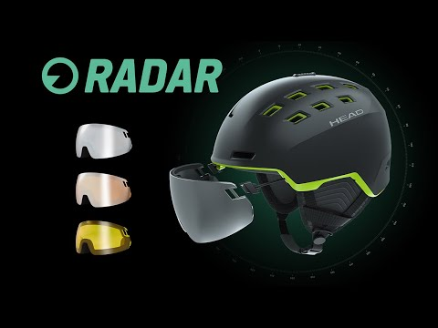 RADAR – how to change the visor