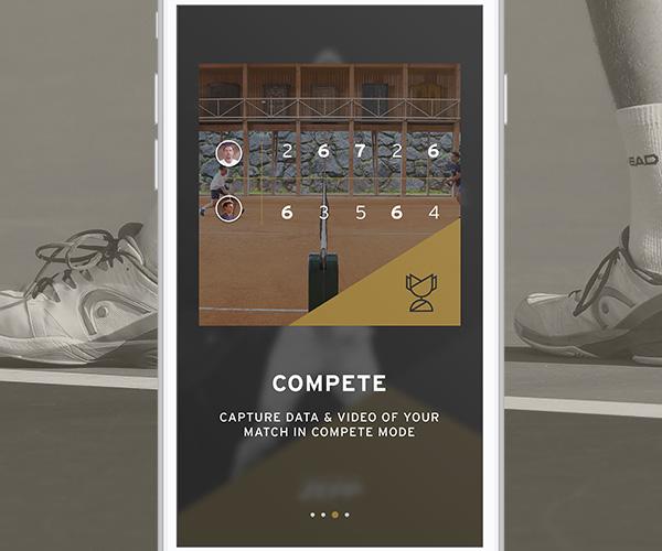 Tennis Sensor Compete Mode