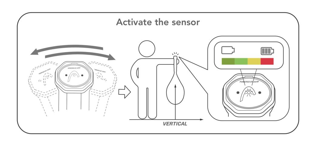 HEAD Sensor – Quick Start Guide – Activate the sensor