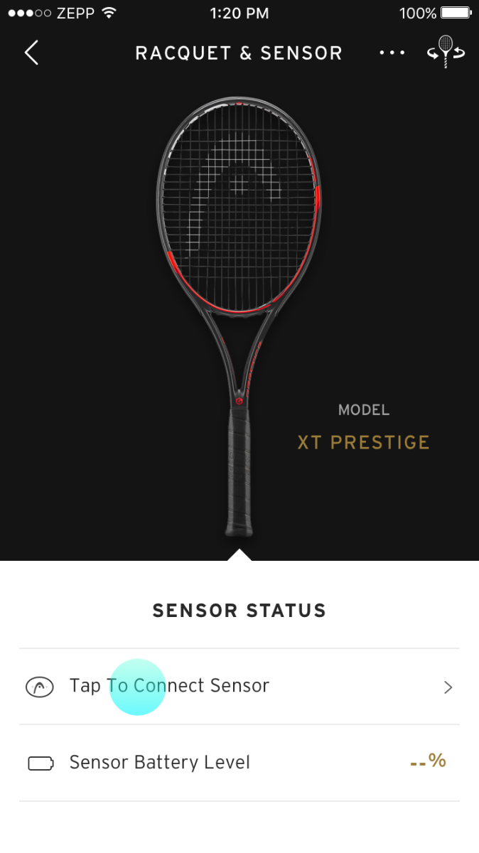 Connect HEAD Tennis Sensor – 2