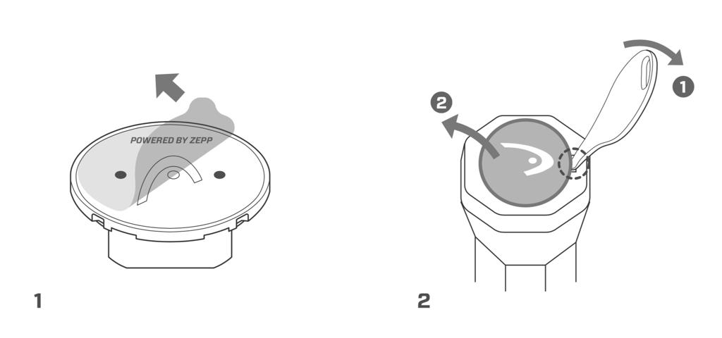 HEAD Sensor – Quick Start Guide – Step 1+2