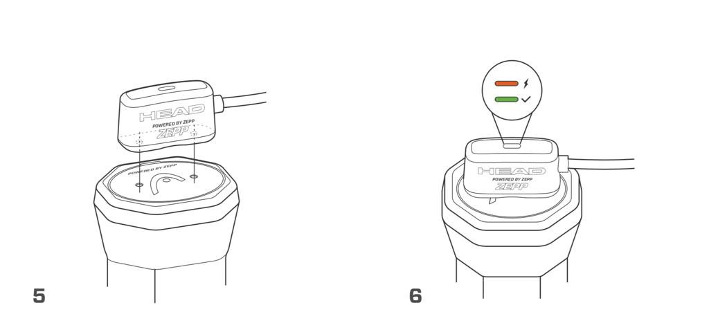 HEAD Sensor – Quick Start Guide – Step 5+6